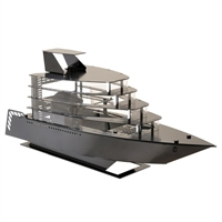 Lian Li PC-Y6B Yacht m-ITX Aluminum Chassis - Black