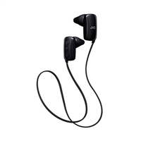 JVC Gumy Wireless Headphones - Black