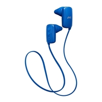 JVC Gumy Bluetooth Wireless Headphones - Blue