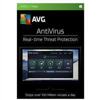 AVG Antivirus - 3 Device, 1 Year (PC)
