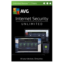 AVG Internet Security Unlimited - 2 Years (PC/Mac)