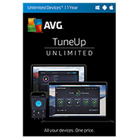 AVG Tune-Up - Unlimited Devices, 1 Year (PC/Mac)