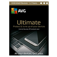 AVG Ultimate - Unlimited Devices, 2 Years (PC/Mac)