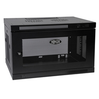 Tripp Lite SmartRack 6U Wall Mount Rack Enclosure Server Cabinet - Black