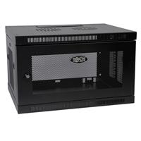 Tripp Lite SmartRack 6U Wall Mount Rack Enclosure Server Cabinet - Black