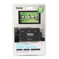 Vivitar 3-Port HDMI Switch Hub
