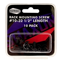 Shaxon (10-Pack) Rack Mounting Screws #10-32 x 1/2""