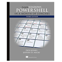 Manning Publications LEARN WINDOWS POWERSHELL