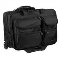 Ativa Mobil-IT Ultimate Rolling Briefcase - Black