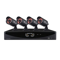 Night Owl 8-Channel 960H Security System with 1 TB HDD Surveillance DVR, 4 x 650 Bullet Cameras Refurbished