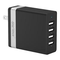 Sharkk 36W 4-Port USB Wall Plug Charger