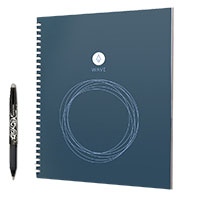 Rocketbook Wave Notebook 8.5 x 9.5in includes one pen