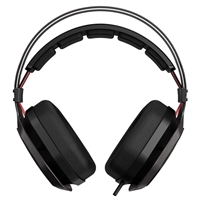Cooler Master MasterPulse 2.0 Channel Stereo Headset w/ Mic - Black