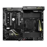 MSI X99A WORKSTATION LGA 2011-3 ATX Intel Motherboard