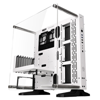 Thermaltake Core P3 Snow Edition Open Frame ATX Mid-Tower Computer Case - White