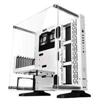 Thermaltake Core P3 SE Open Frame ATX Mid-Tower Computer Case - White
