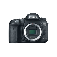 Canon 7D Mark II DSLR Camera Body with W-E1 Wi-Fi Adapter