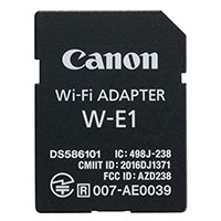 Canon W-E1 WI-FI Adapter f/ 7D Mark II and 5Ds