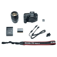 Canon 7D Mark II Digital SLR Camera with EF-S 18-135mm IS USM Lens Wi-Fi Adapter Kit