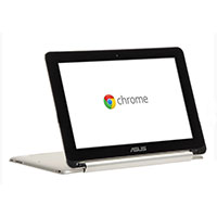 "ASUS C100PA-DB02 10.1"" Chromebook Flip - Silver"