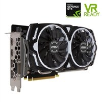 MSI GeForce GTX 1060 ARMOR Overclocked V1 3GB GDDR5 Video Card