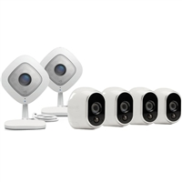 NetGear Arlo Q Security Camera (4-Pack)