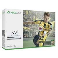 Microsoft Press Xbox One S FIFA 17 Bundle (500GB)