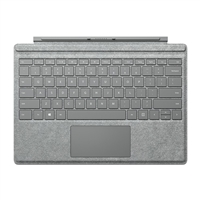 Microsoft Surface Pro 4 Alcantara Signature Type Cover - Gray