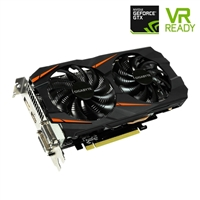 Gigabyte GeForce GTX 1060 WindForce Overclocked 3GB GDDR5 Video Card