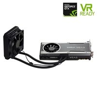 EVGA Hybrid FTW GeForce GTX 1080 Gaming Overclocked Dual-Fan 8GB GDDR5X PCIe Video Card