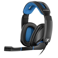 Sennheiser GSP 300 Over-Ear Gaming Headset - Black/Blue