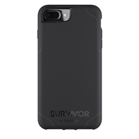 Griffin Survivor Journey Case for iPhone 7 Plus - Black