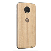 Motorola Shell Style Case for Motorola Z - Washed Oak