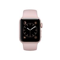 Apple Watch Series 2 38mm Rose Gold Aluminum Smartwatch - Pink Sand Sport Band