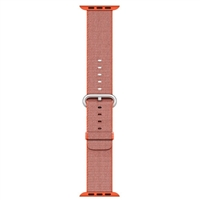 Apple 38mm Woven Nylon Band For Apple Watch - Space Orange/Anthracite