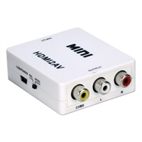 QVS HDMI Female to Composite Female A/V Converter