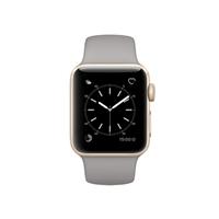Apple Watch Series 2 38mm Gold Aluminum Smartwatch - Concrete Sport Band