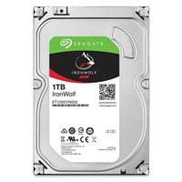 "Seagate IronWolf 1TB 5,900RPM SATA III 6Gb/s 3.5"" Internal Hard Drive OEM"