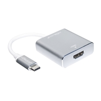 Cirago USB 3.1 (Type-C) Male to HDMI Female 4K Adapter Cable - Silver