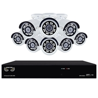 Night Owl 8 Channel H.265 Network Video Recorder with 2 TB HDD  and 8 x 2K (4MP) Wired IP Cameras