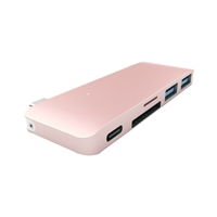 Satechi Type-C USB Passthrough Hub Gold