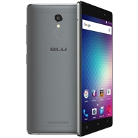 BLU Vivo 5R, 3GB RAM/32GB Storage, LTE, Gray, Unlocked GSM Smartphone
