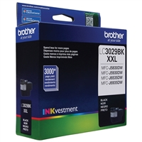 Brother LC3029BK XXL Super High Yield Black Ink Cartridge