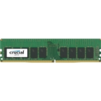 Crucial 16GB DDR4-2400 PC4-19200 CL16 Dual Channel Server Memory Module