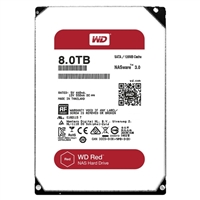 "WD Red 8TB 5,400 RPM SATA III 3.5"" Internal NAS Hard Drive - WD80EFZX"