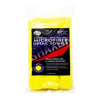 Shaxon Microfiber Detailing Towels, 2 Pack