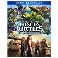 Paramount TMNT 2 Out of the Shadows Blu-Ray