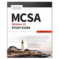Sybex MCSA Microsoft Windows 10 Study Guide: Exam 70-697, 1st Edition