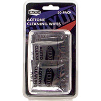 Shaxon Acetone Cleaning Wipes 20 Pcs