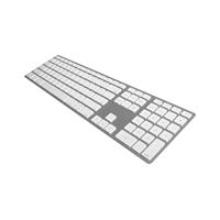 Matias Bluetooth Slim Aluminum Keyboard - Silver